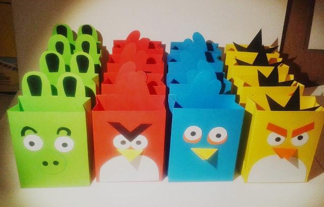 urodziny w stylu angry birds 3