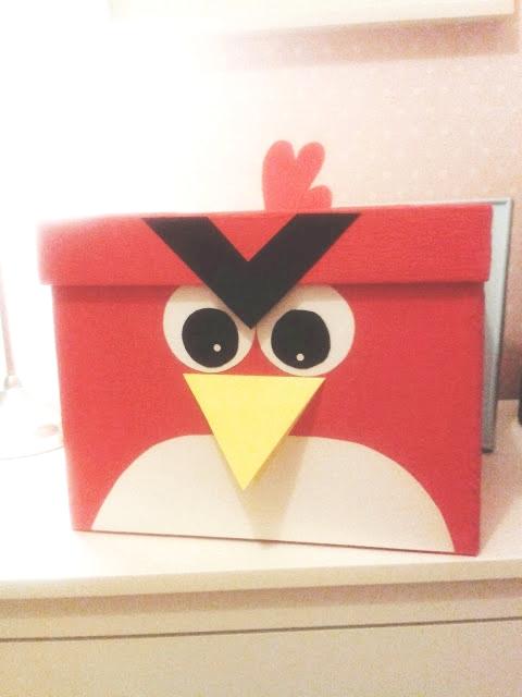 urodiny w stylu angry birds 4
