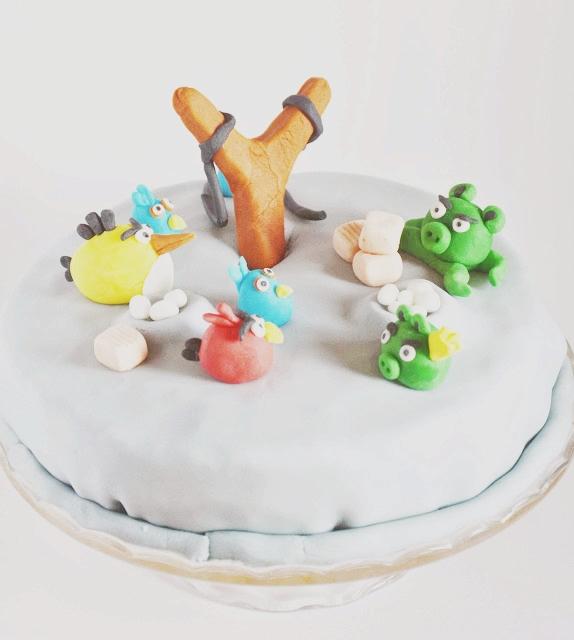 urodziny w stylu angry birds