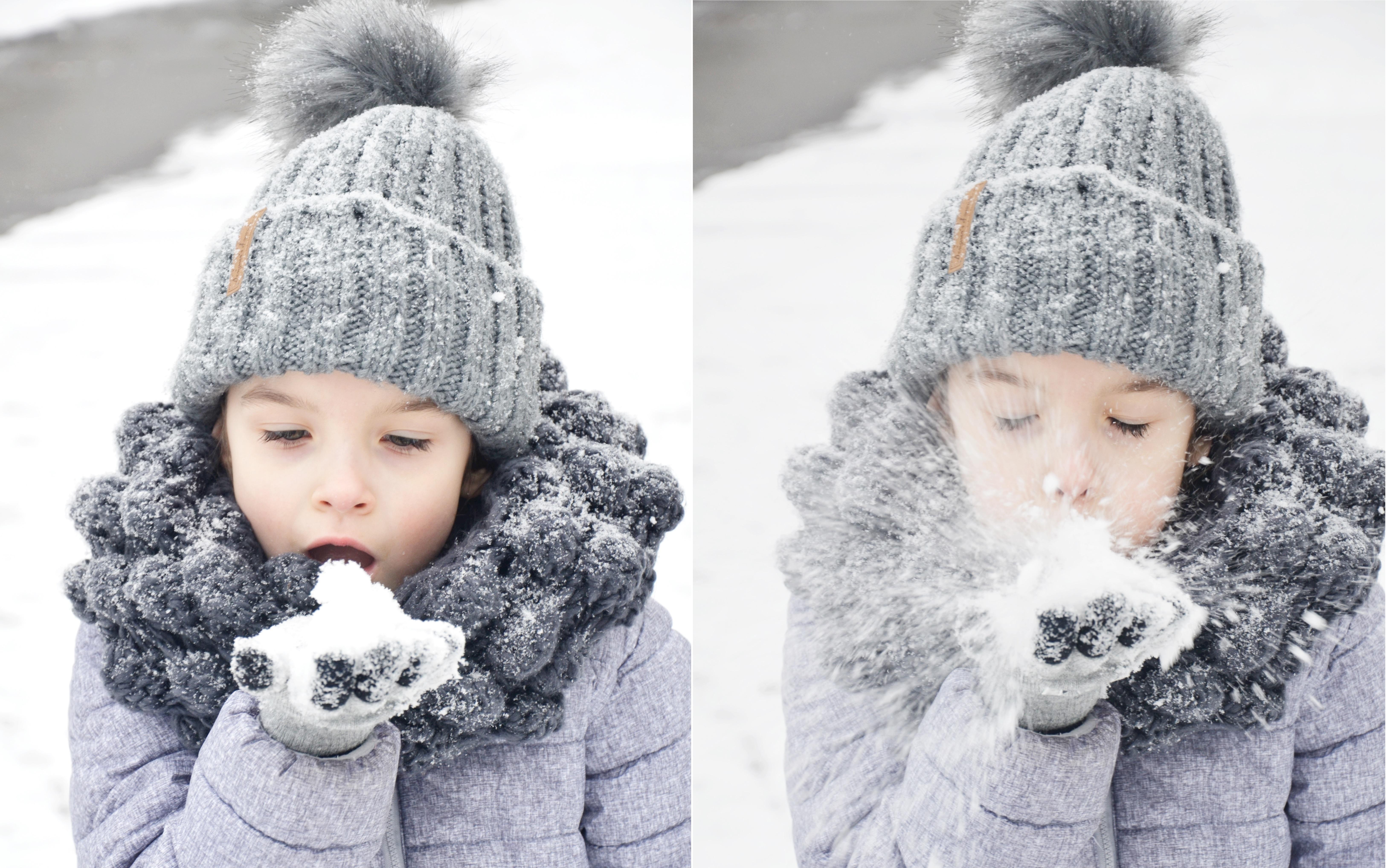zima kolaz