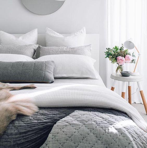 sypialnia w stylu skandynawskim 3