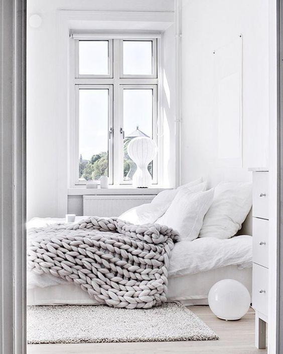 sypialnia w stylu skandynawskim 2