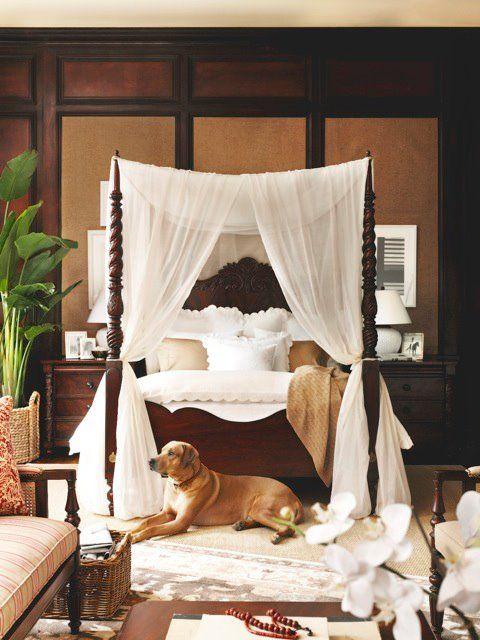 sypialnia w stylu kolonialnym 2