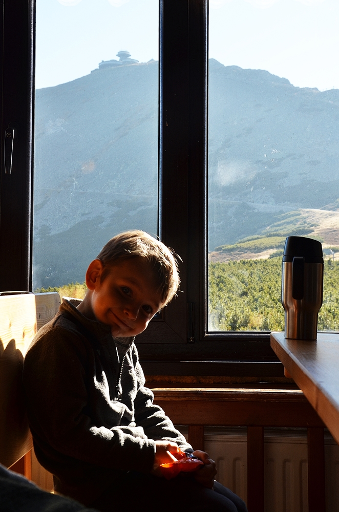 dziecko w górach 1